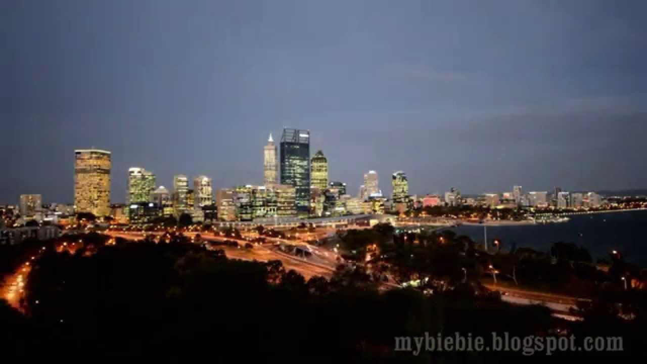 perth western australia beautiful night scenery kings. Black Bedroom Furniture Sets. Home Design Ideas
