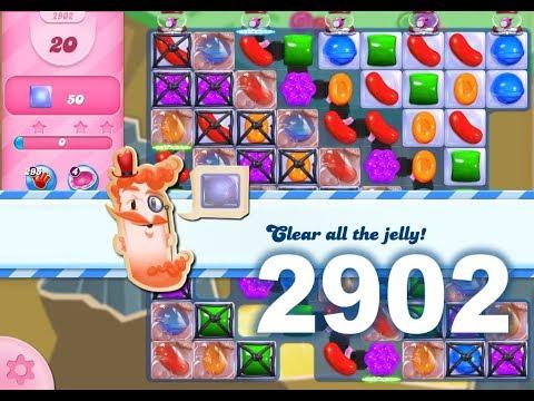 Candy Crush Saga Level 2902 (3 stars, No boosters)