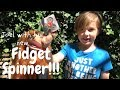 Fidget Spinner unboxing - Kids fidget spinner review - interview