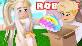 My Girlfriend Wanted the New Halo for Her Birthday But... Royale High Roblox Roleplay