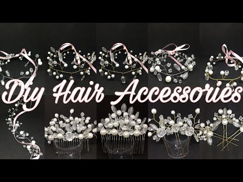 DIY Hair Accessories | How to Make Hair Accessories