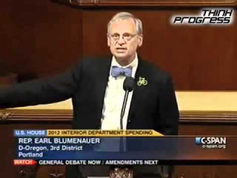 Blumenauer: 'The Jihad Against Climate Change Continues'