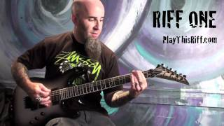 """SCOTT IAN """"March Of The S.O.D."""" guitar lesson for PlayThisRiff.com ..."""