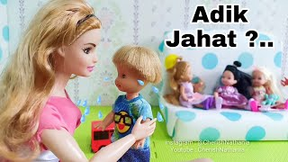 Cerita Barbie Cantik Bahasa Indonesia 😭 Barbie Anak-Anak Kecil Lucu 😍 Barbie Video Drama Pendidika