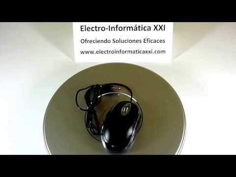 Ratón Óptico Usb Iluminado Led Color Negro 800dpi Cable 120 Mm - Usb Mouse