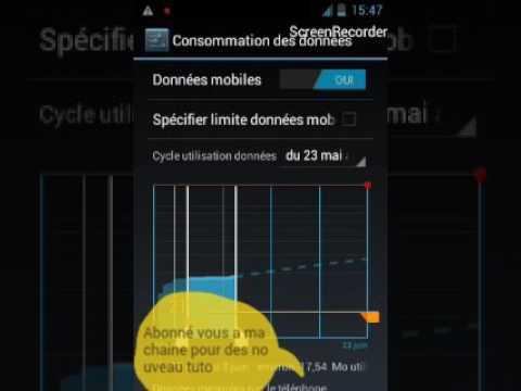 Comment Reduit La Comsomation Des Donnée Sur Un Android