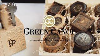 Ręcznie robione drewniane zegarki - Rozmowy Green Canoe - Andrzej Krawczyk - Pracownia Endiego