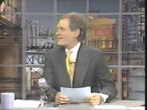 Letterman's Top 10 Words spoken by James Earl Jones