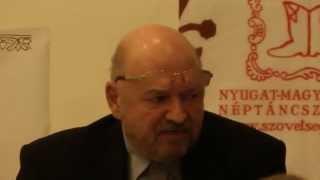 Korbacsics Tibor előadása Thumbnail