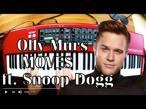 Olly Murs - Moves - Ft. Snoop Dogg  - Piano Cover