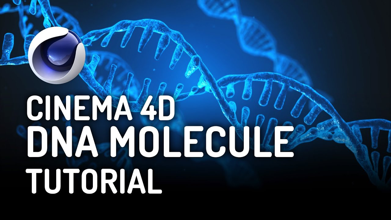 How to Create a DNA Molecule in Cinema 4D - Free Tutorial