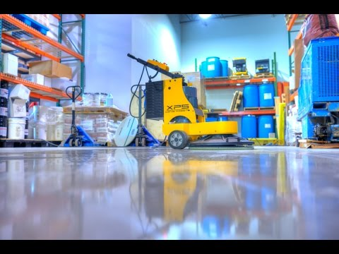 HOW-TO Densify & Seal A Concrete Floor (Start To Finish)
