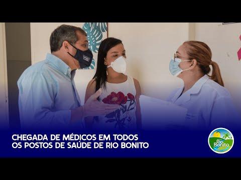 Chegada de médicos em todos os postos de Saúde de Rio Bonito