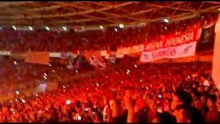 rindu suasana Gelora Bung Karno saat lagu INDONESIA RAYA berkumandang