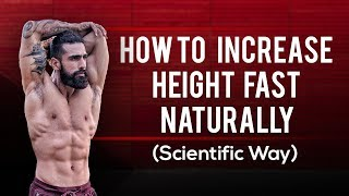 HOW TO BECOME TALLER IN 1 MONTH (Increase Height Fast Naturally)