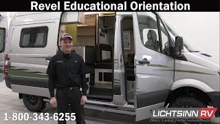 LichtsinnRV.com - Winnebago Revel Educational Orientation & Walk Through