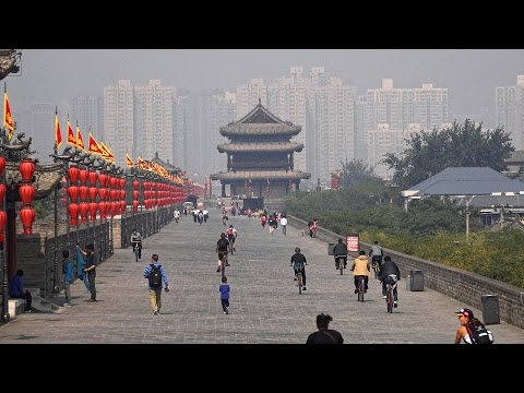 Xi'an, China: City Walls & Goose Pagodas in 4K (Ultra HD)