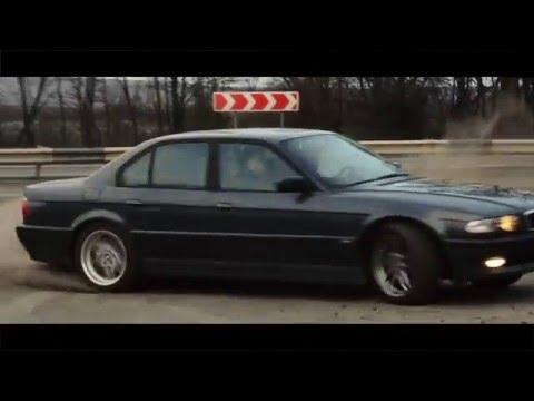 Тизер BMW 740d E38