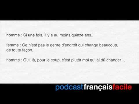 après une sortie - podcast français facile