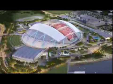 Singapore National Stadium Club Sports Hub Virtual Tour