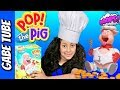 Top Toys POP THE PIG CHALLENGE GAME 2 Keep Feeding The Pig Yummy Burgers Until He POPS Gabe Tube TV mp3