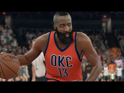 What If James Harden Never Left The Oklahoma City Thunder? NBA 2K17 Challenge