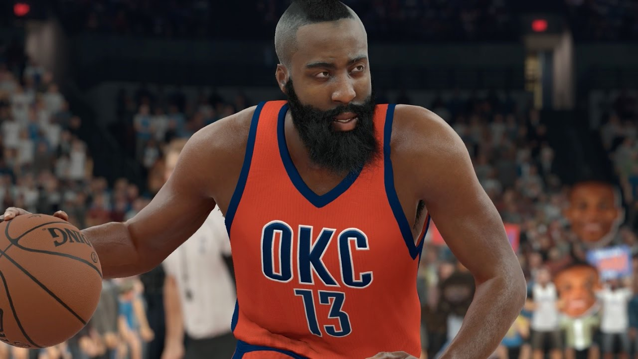 9b7667c3 What If James Harden Never Left The Oklahoma City Thunder? NBA 2K17  Challenge - YouTube