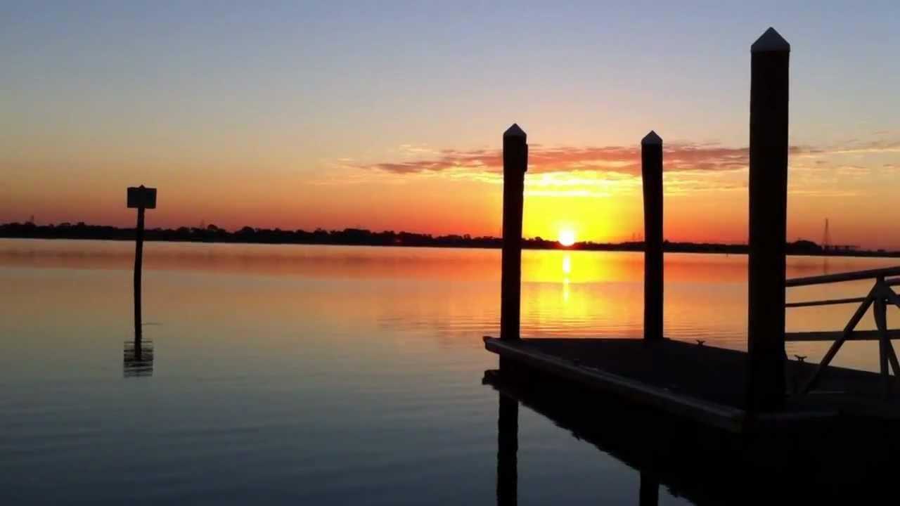 Sunrise At Philippe Park Safety Harbor Fl Youtube