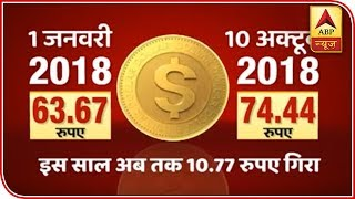 Rupee Hits All-Time Low Of 74.46 Against US Dollar | ABP News