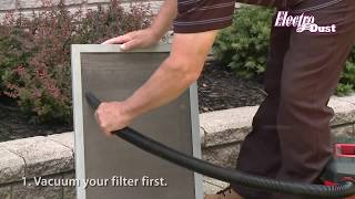 How to Wash an Electrostatic Furnace Filter