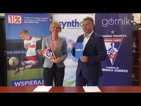 Synthos AGRO na dłużej Partnerem Biznesowym Akademii Piłkarskiej Górnika Zabrze