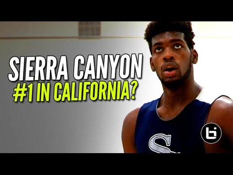Is Sierra Canyon The Best Team In California This Season? Full Raw Highlights #SAlemanyShowcse