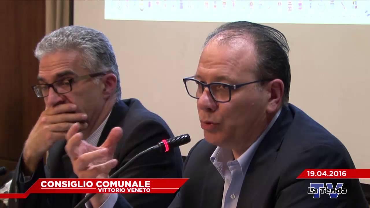 CONSIGLIO COMUNALE VITTORIO VENETO - Seduta del 19.04.2016