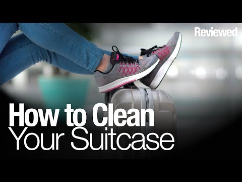 How to clean your suitcase