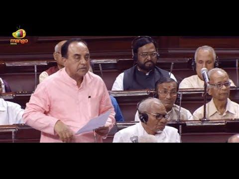 Subramanian Swamy And Jitendra Singh Speaks On Civil Services Examination | Rajya Sabha | Mango News