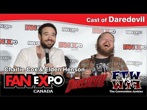 Daredevil's Charlie Cox & Elden Henson  Expo Canada