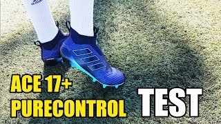 Adidas ace 17+ purecontrol test & review - new paul pogba boot test
