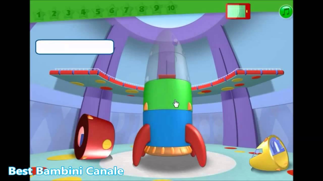 La casa di topolino avventura nello spazio cartone animato
