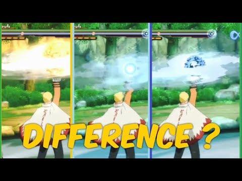 Naruto Storm 4 : What is The Difference between Hokage Naruto's  Rasenshurikens (Jutsu) ?