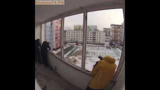 видео Алюминиевое остекление лоджий и балконов в Барнауле