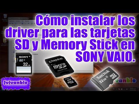 como-instalar-el-driver-de-las-tarjetas-sd-y-ms-en-un-vaio-[how-to-install-the-driver]