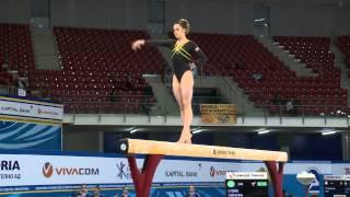 Catherine Lyons - Beam -2014 Junior European Championships - team event