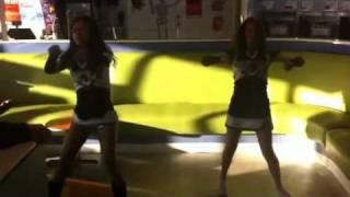Dancing in U-swirl (;