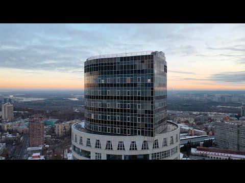 Аэросъёмка Киев/Печерск, Кловский спуск, 7.