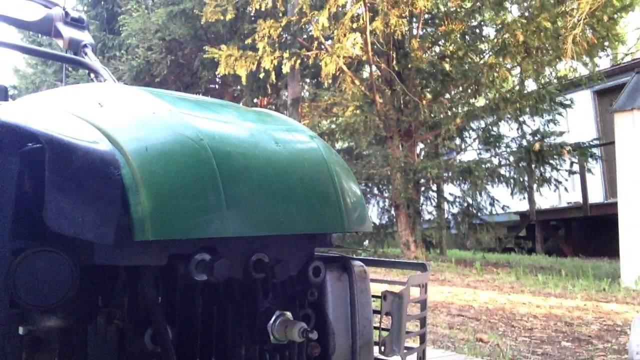 Lawn tractor head gasket repair update youtube - John Deere Js25 Push Mower Head Gasket Repair Part 1