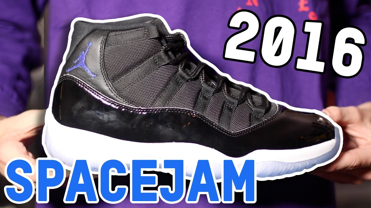 d39c1a7f354b 2016 SPACEJAM 11! Early Unboxing
