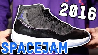 2016 SPACEJAM 11! Early Unboxing, Review, & On-Feet!