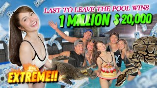EXTREME LAST TO LEAVE THE POOL WINS 1 MILLION $$$ (INTENSE!!!)
