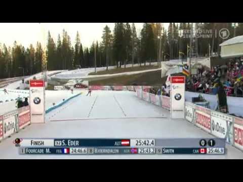 sprint der herren biathlon