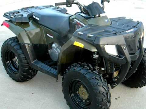 2010 SPORTSMAN 400 HO $3700 FOR SALE WWW.RACERSEDGE411.COM - YouTube